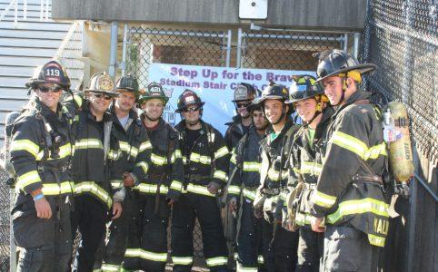 Stair Climb Firemen